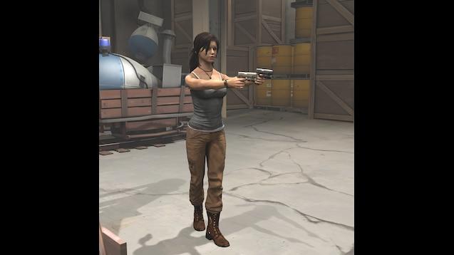Steam Workshop Updated 25 10 Lara Croft Model Tomb Raider 2013