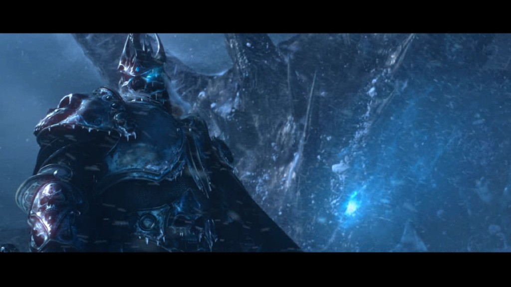 Steam Community Screenshot Arthas Summoning The Blue Dragon Queen Sindragosa In Undead Form From World Of Warcrafts Wrath Lich King Cinematic