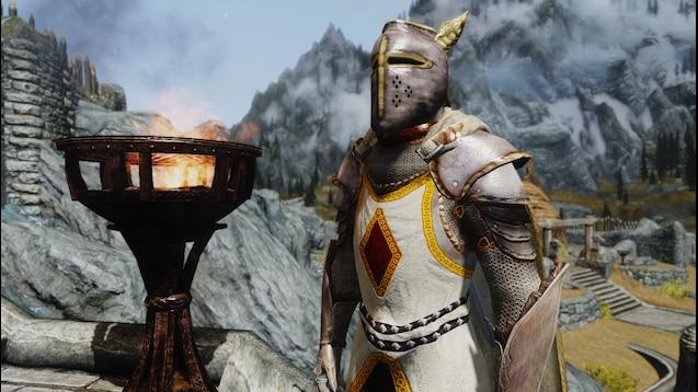 Oblivion knights of the nine mod skyrim
