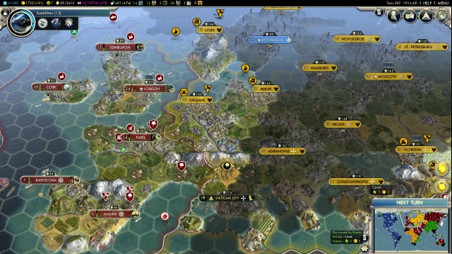 Steam Workshop Vens Standard Earth Maps – Civ 5 World Map