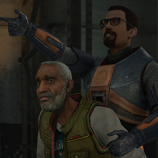 Cartoony Gordon Freeman