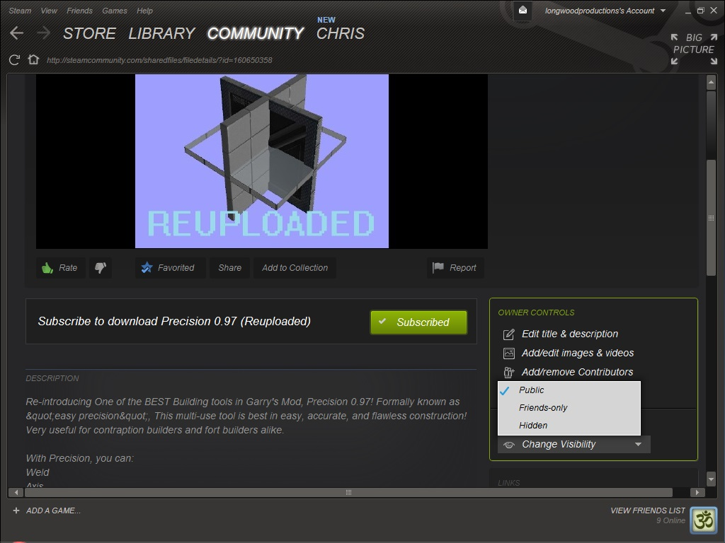 Steam Community :: Guide :: How to upload to Workshop [EASY]