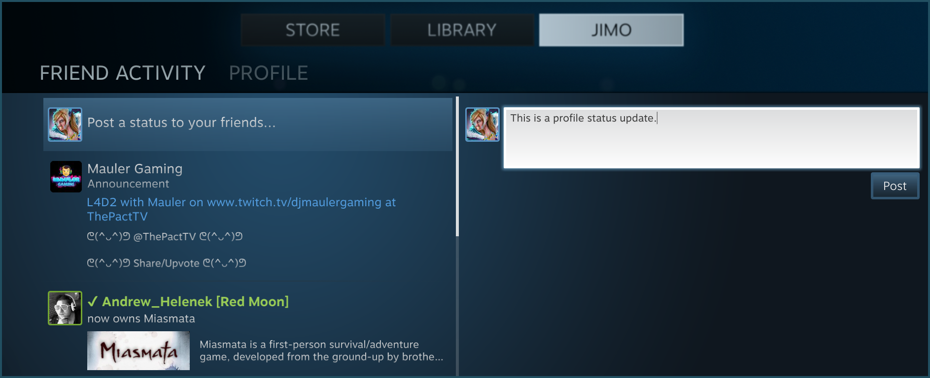 how to find steam profile from id