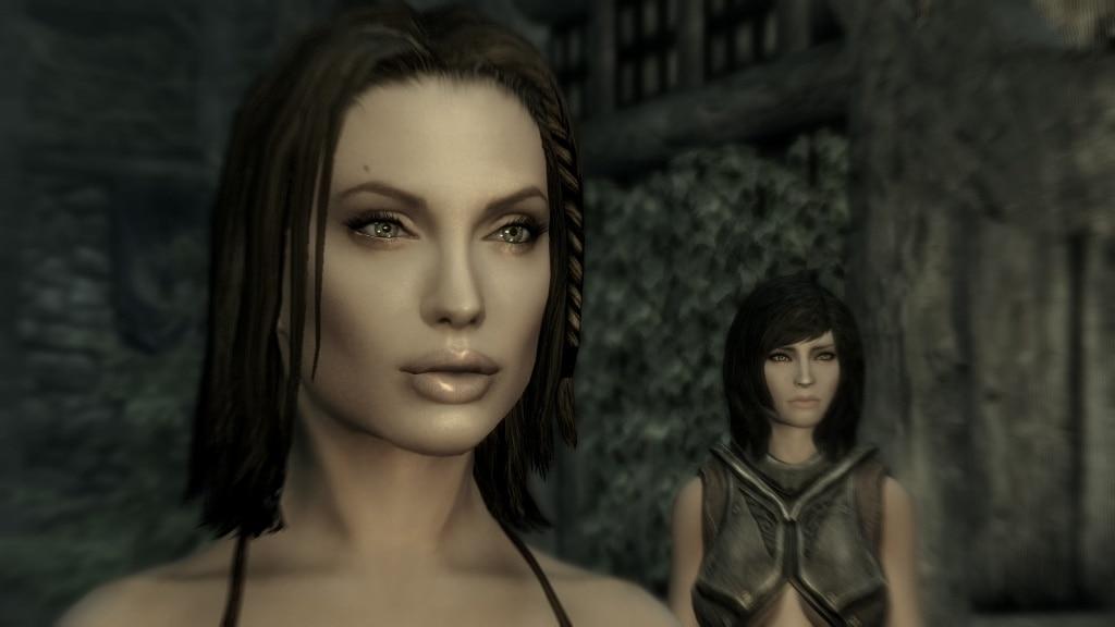 Skyrim Angelina Jolie