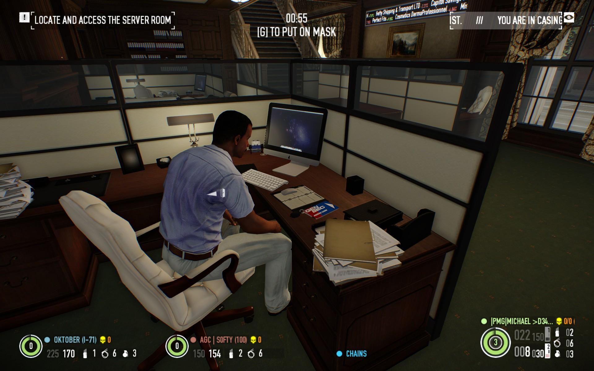 Payday  Server Room
