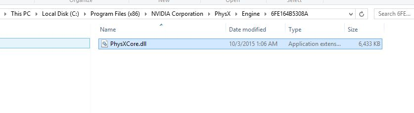 Steam Community :: Guide :: Fixing Framerate Issues with PhysX