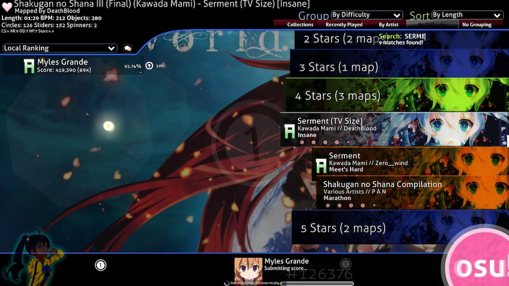Steam Community :: Screenshot :: AND CHOKE 6 BANCHO SERVERS