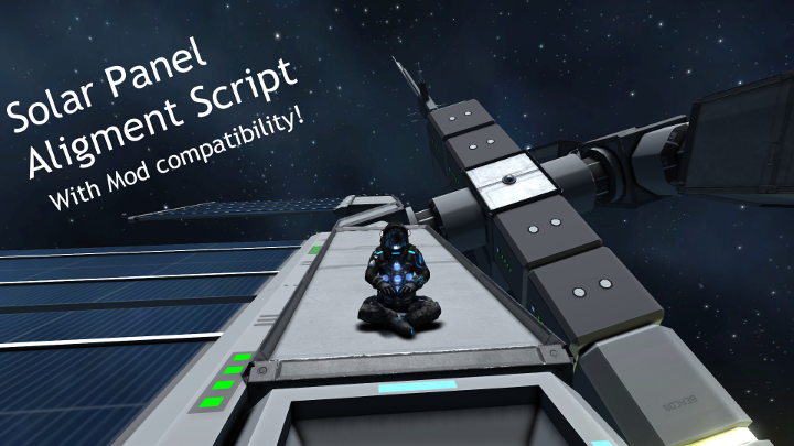 Solar Panel Alignment Script [BROKEN]