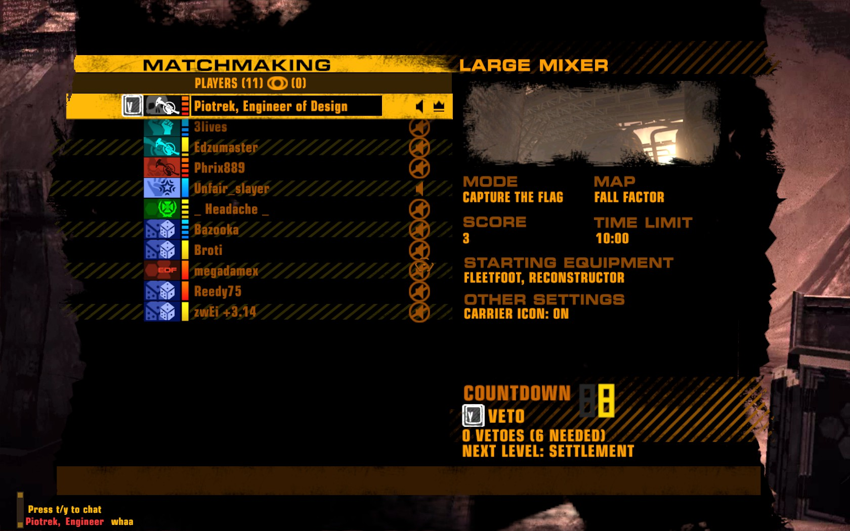 Red faction guerrilla matchmaking