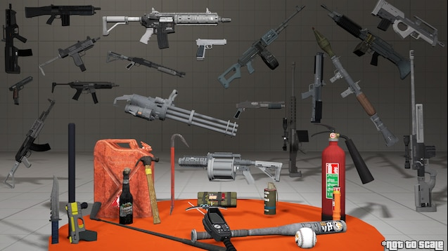Steam Workshop :: GTA V | Base Game Weapons Pack [LR]