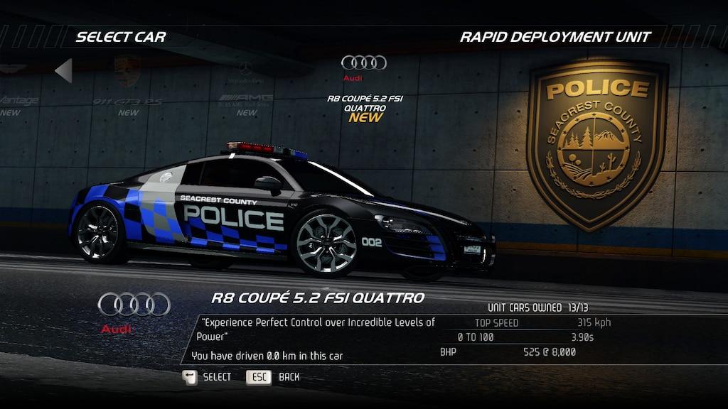 Steam Community Screenshot Audi R8 Police