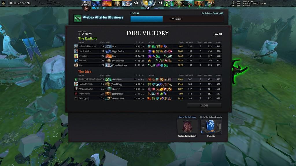 Steam Community Screenshot 131 Kills Total On 56min Game