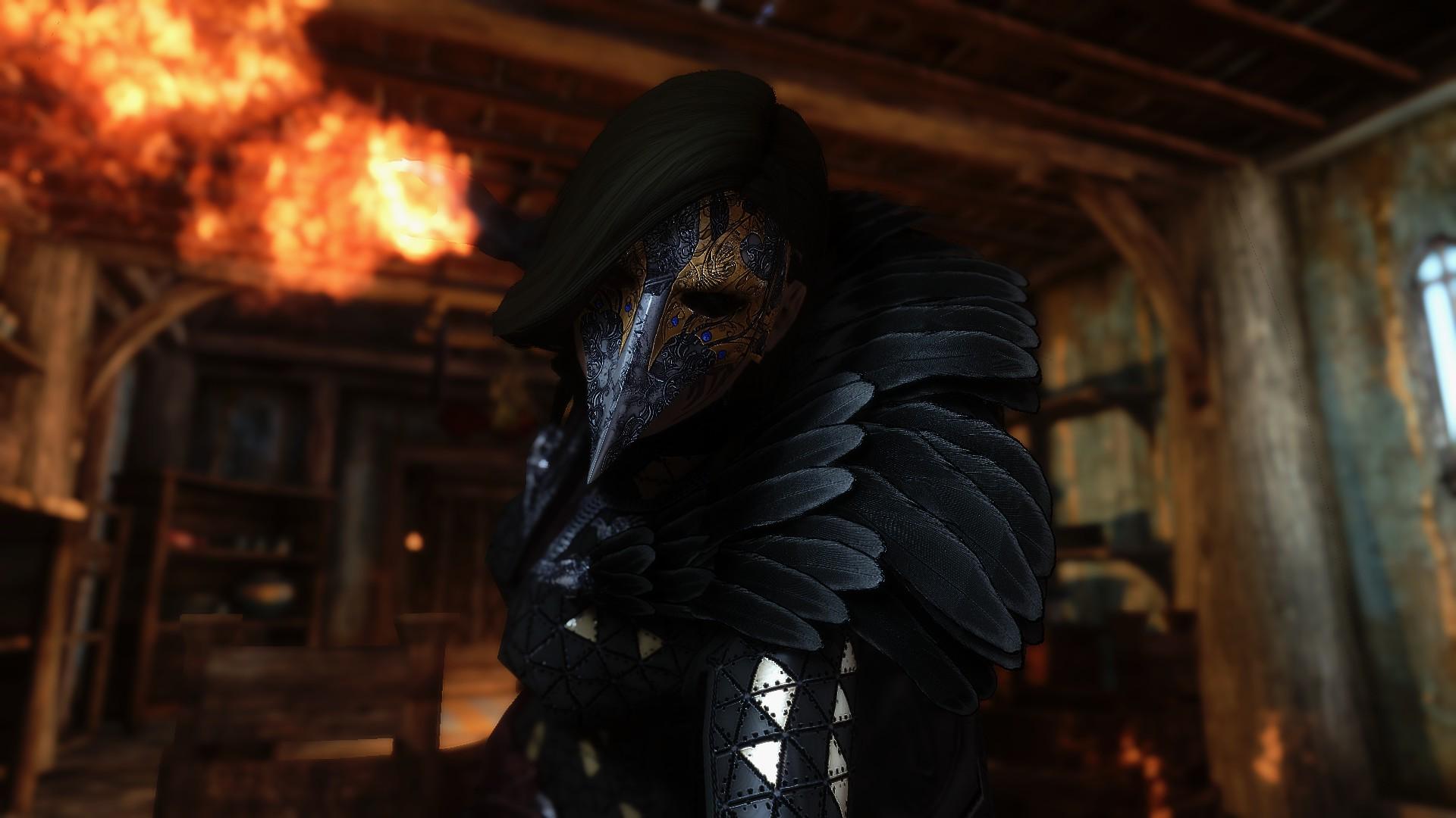 Skyrim Bird Witch