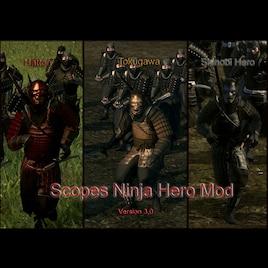Steam Workshop :: Scope's Ninja Hero Mod Version 3 0 1 (Hattori