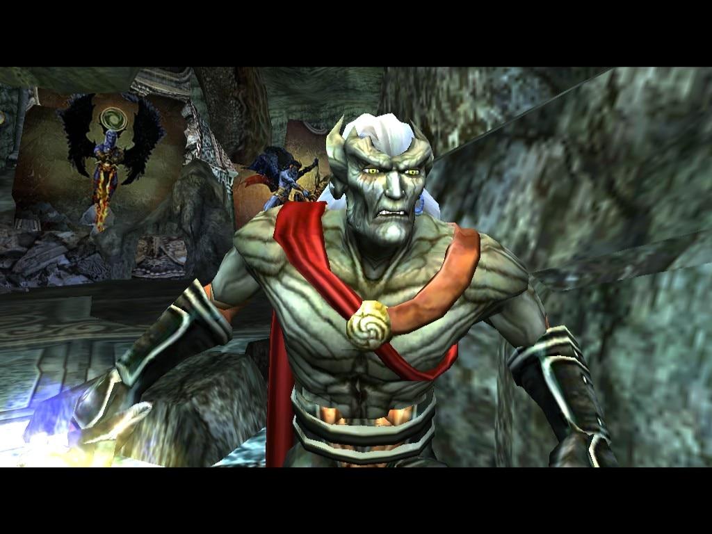 Steam Community :: Screenshot :: Kain speaking to the Elder God.