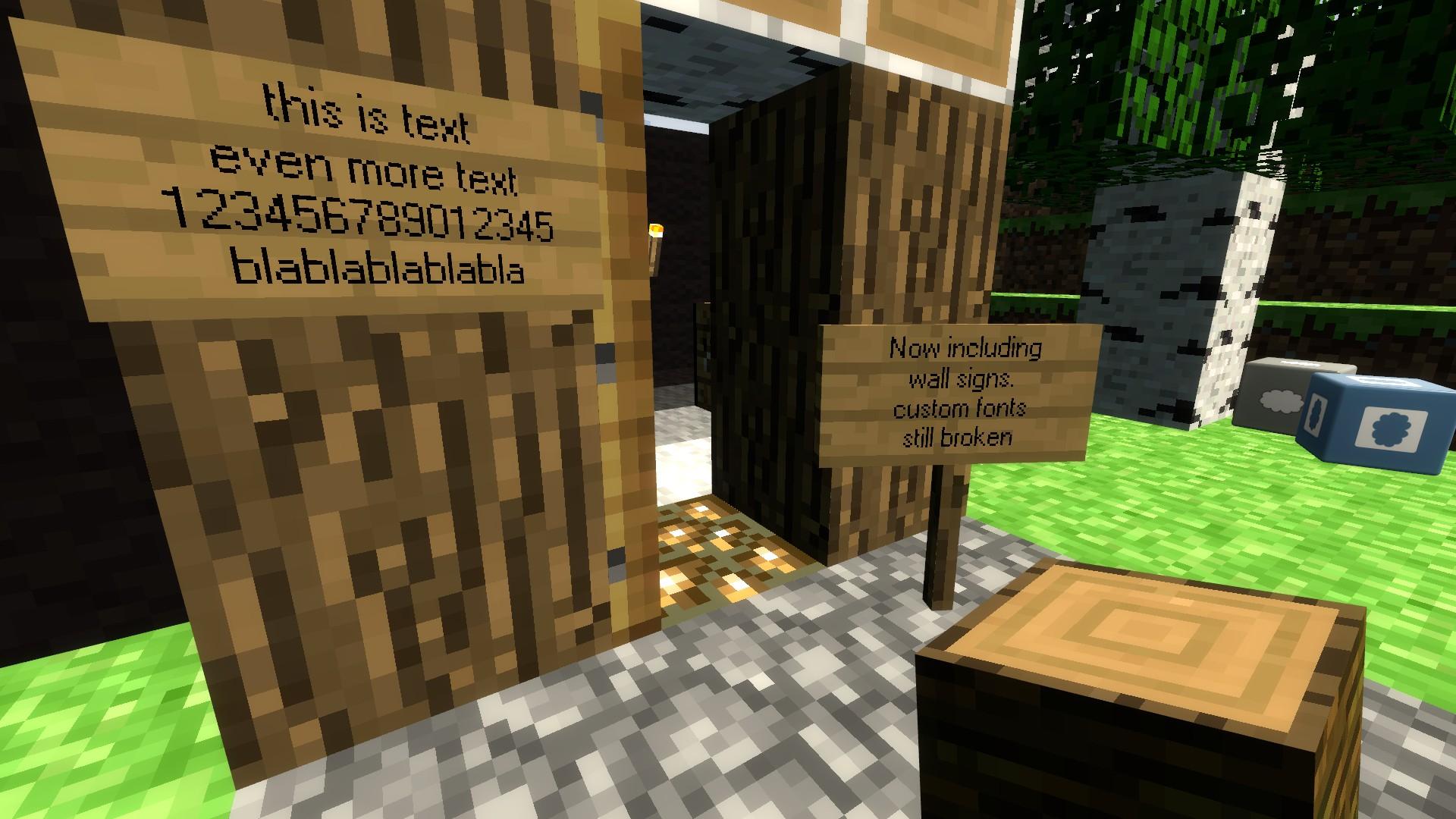 Steam Workshop :: Minecraft Sign Entity