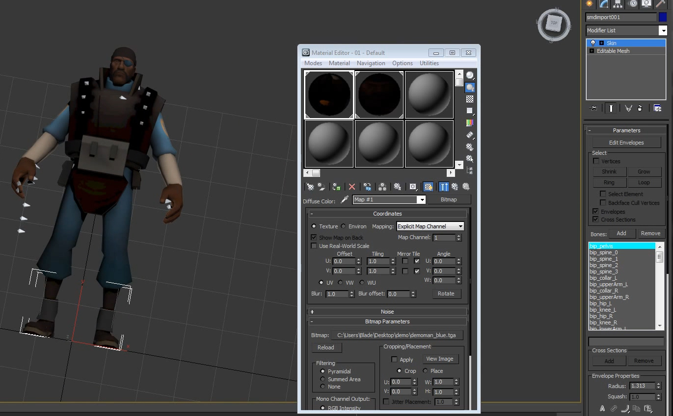 Steam Community :: Guide :: Importing Source Models into 3DS Max