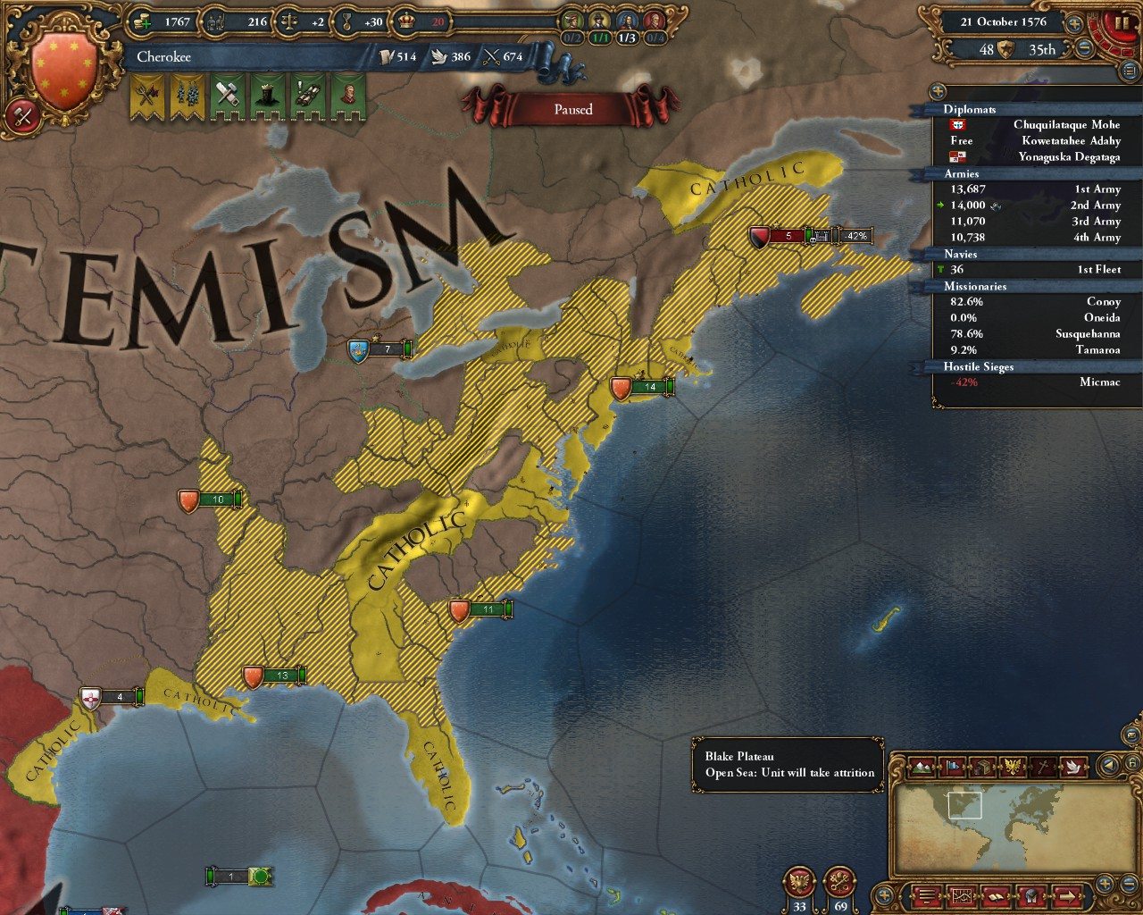europa universalis 4 how to get explorers as iroquois