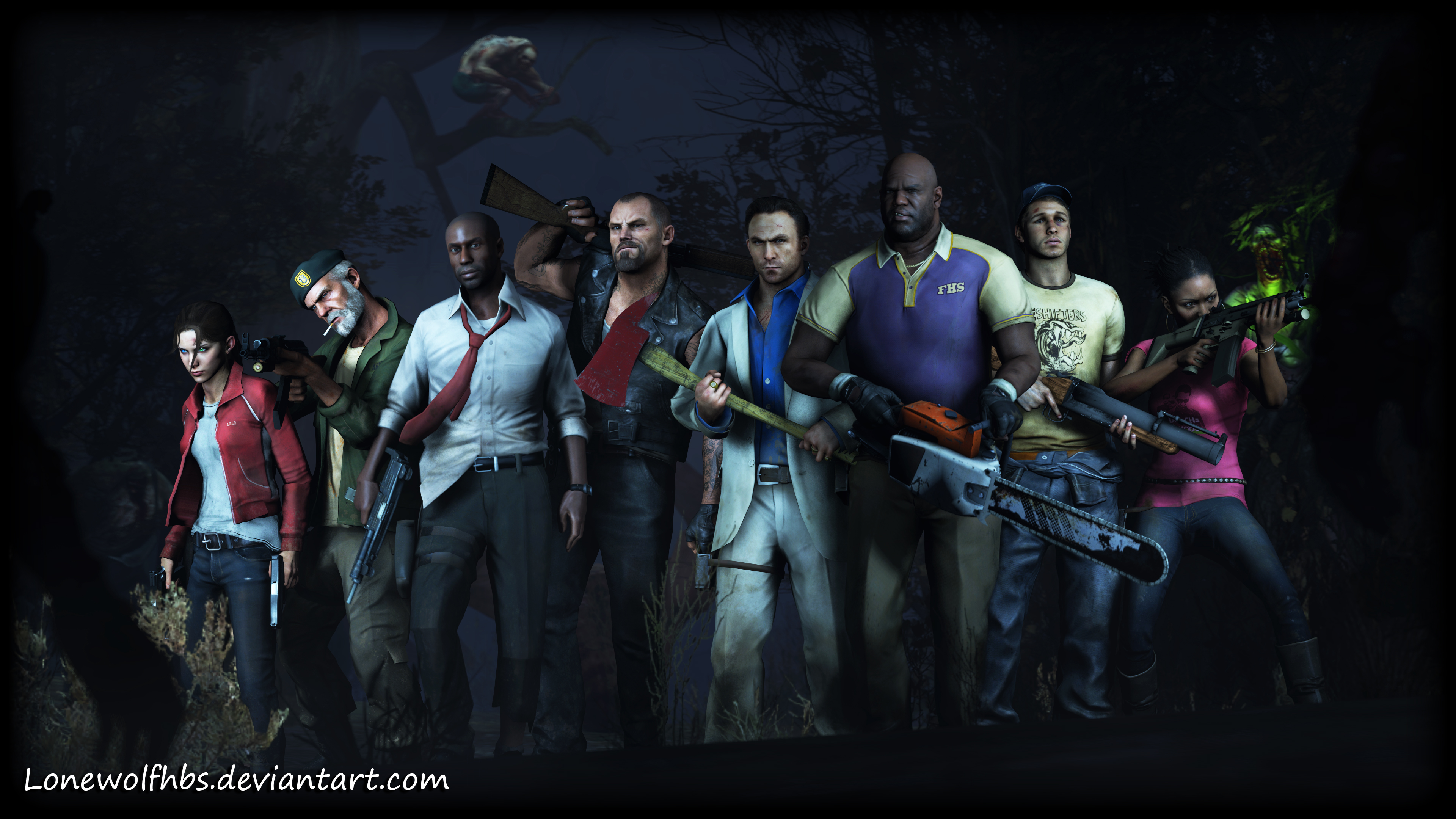 Steam Community :: :: [SFM] Left 4 Dead - Survivors