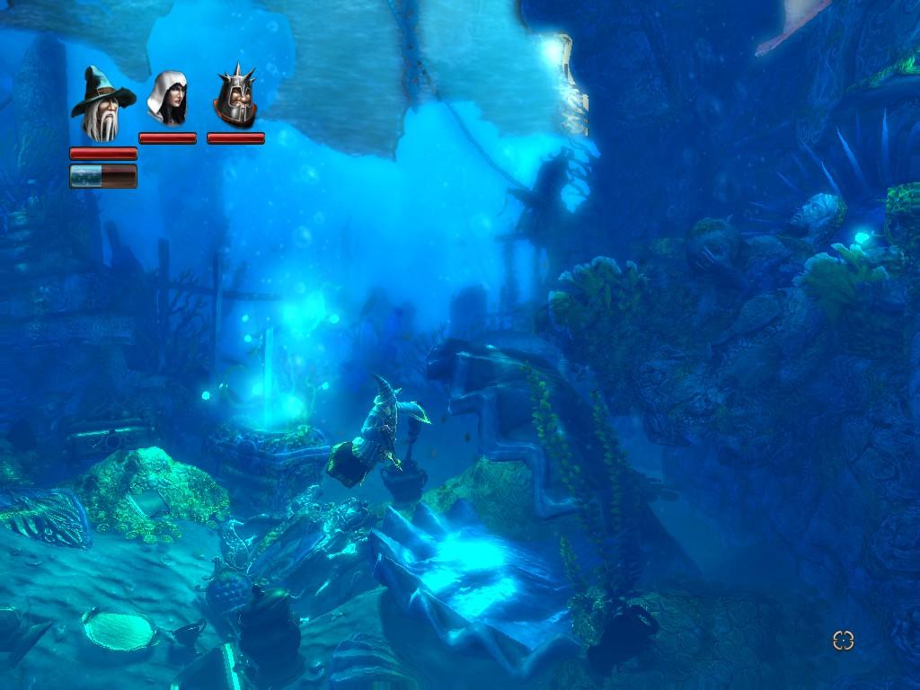 Trine Underwater Scene Wallpapers Wallpapers