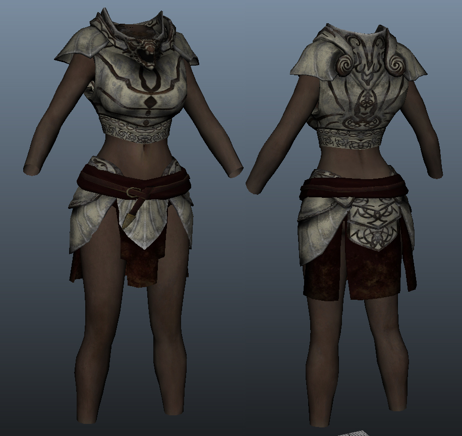 Steam Workshop :: Killerkeo's Skimpy DawnGuard Replacer