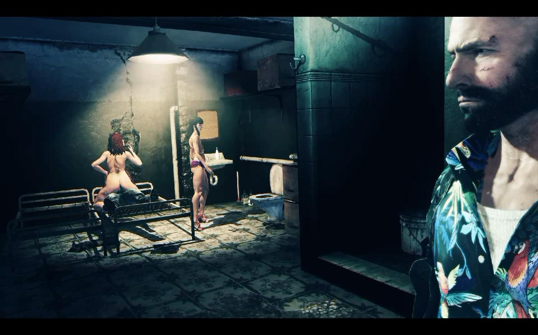 Max Payne Nude Scene