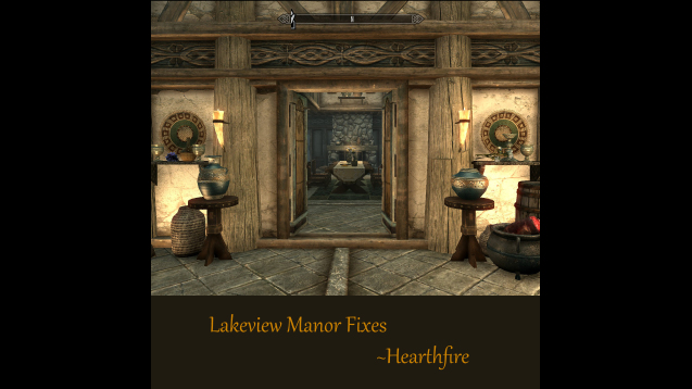 Steam Workshop   Lakeview Manor Fixes  WIP . Hearthfire Lighting Fix. Home Design Ideas
