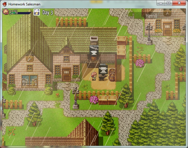 Steam Community :: Screenshot :: Homework Salesman is a RuneFactory