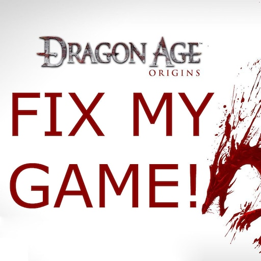 Steam Community :: Guide :: How to Fix Dragon Age: Origins