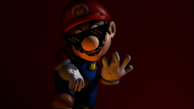 Steam Workshop High Poly Mario