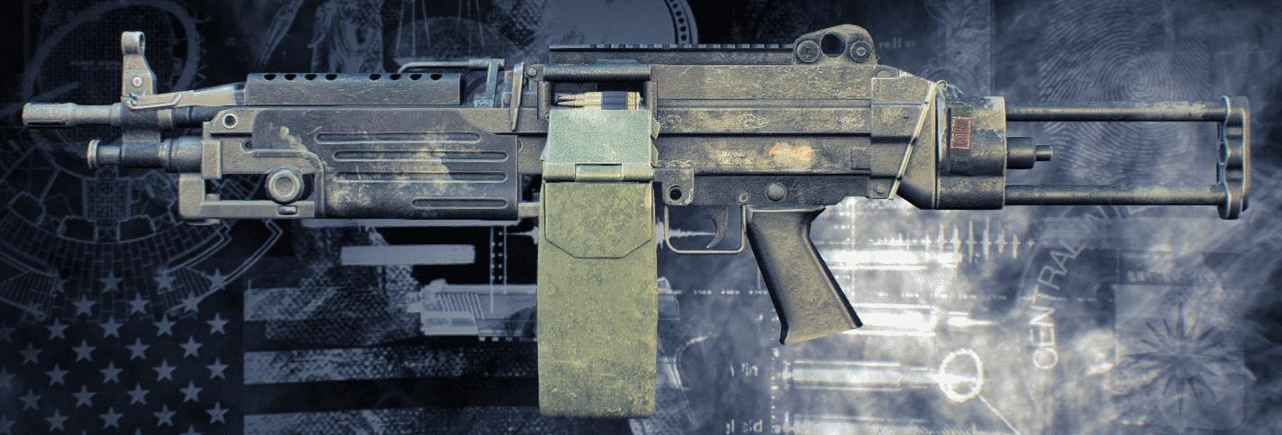 payday 2 light machine gun