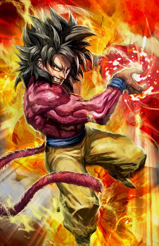 Goku Super Saiyan 4 Wallpapers - Wallpaper Zone