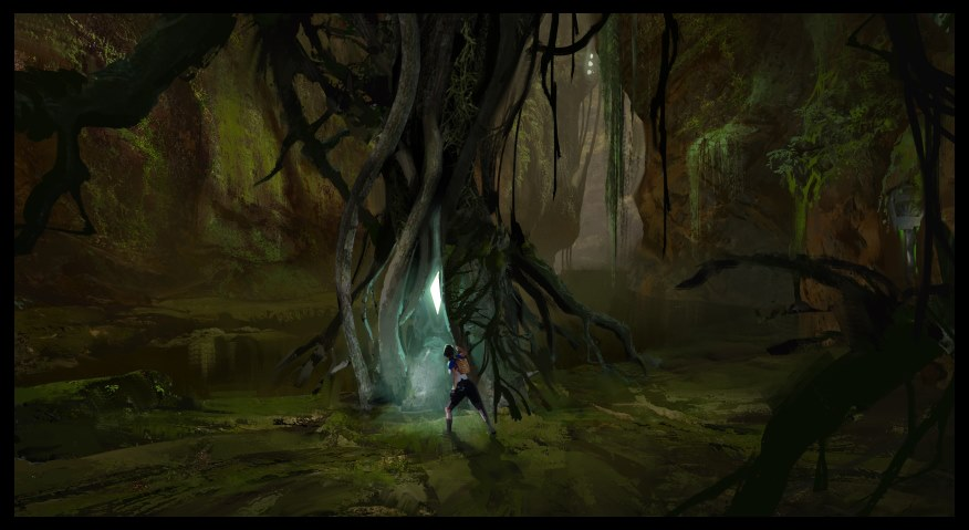Steam Community :: :: Concept: Swamp Cave