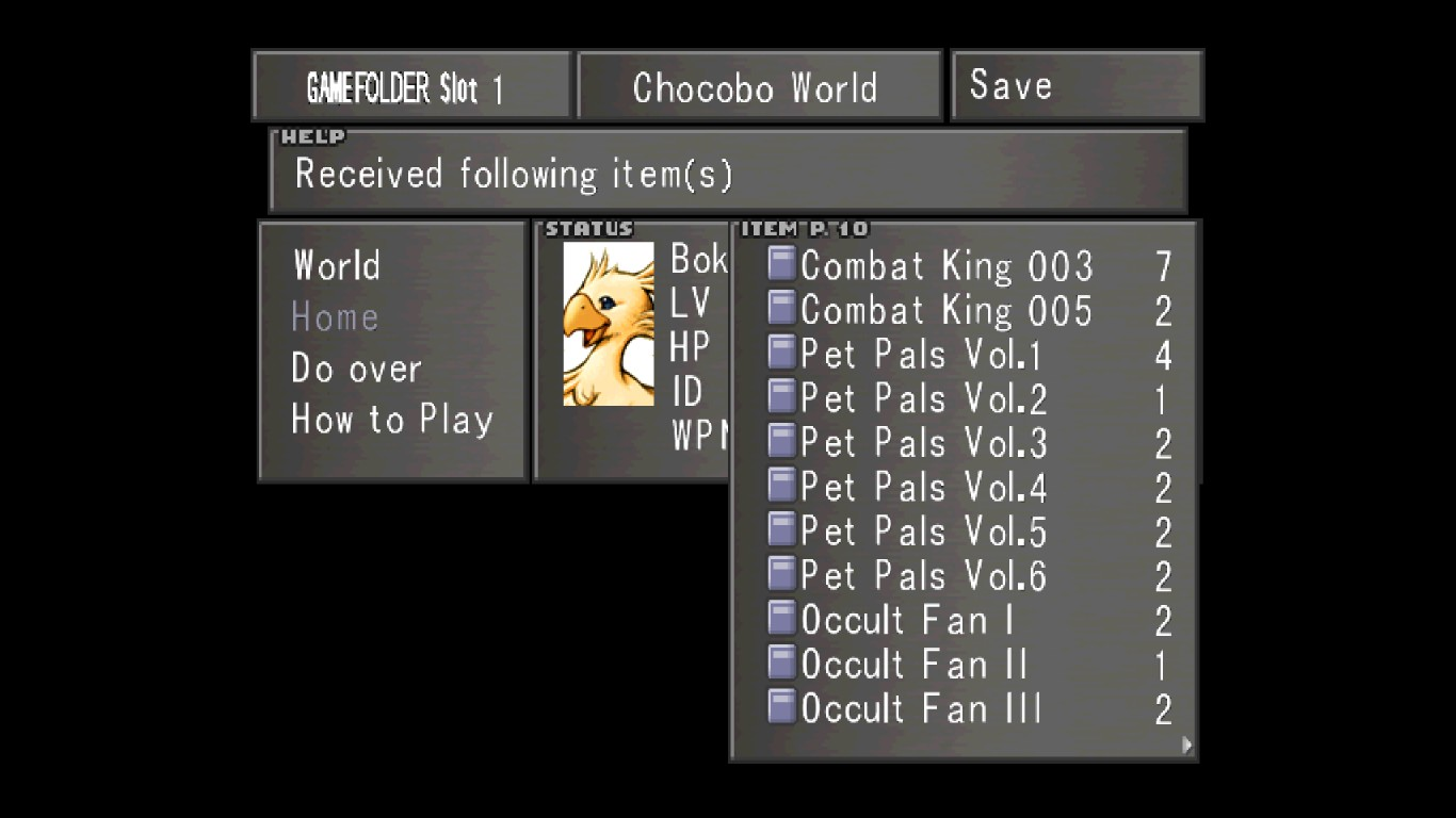 You probably didnu0027t notice a few of the items in those screenshots even when you click on them to enlarge them. Who has the time to read all that stuff ...  sc 1 st  Steam Community & Steam Community :: Guide :: Chocobo World