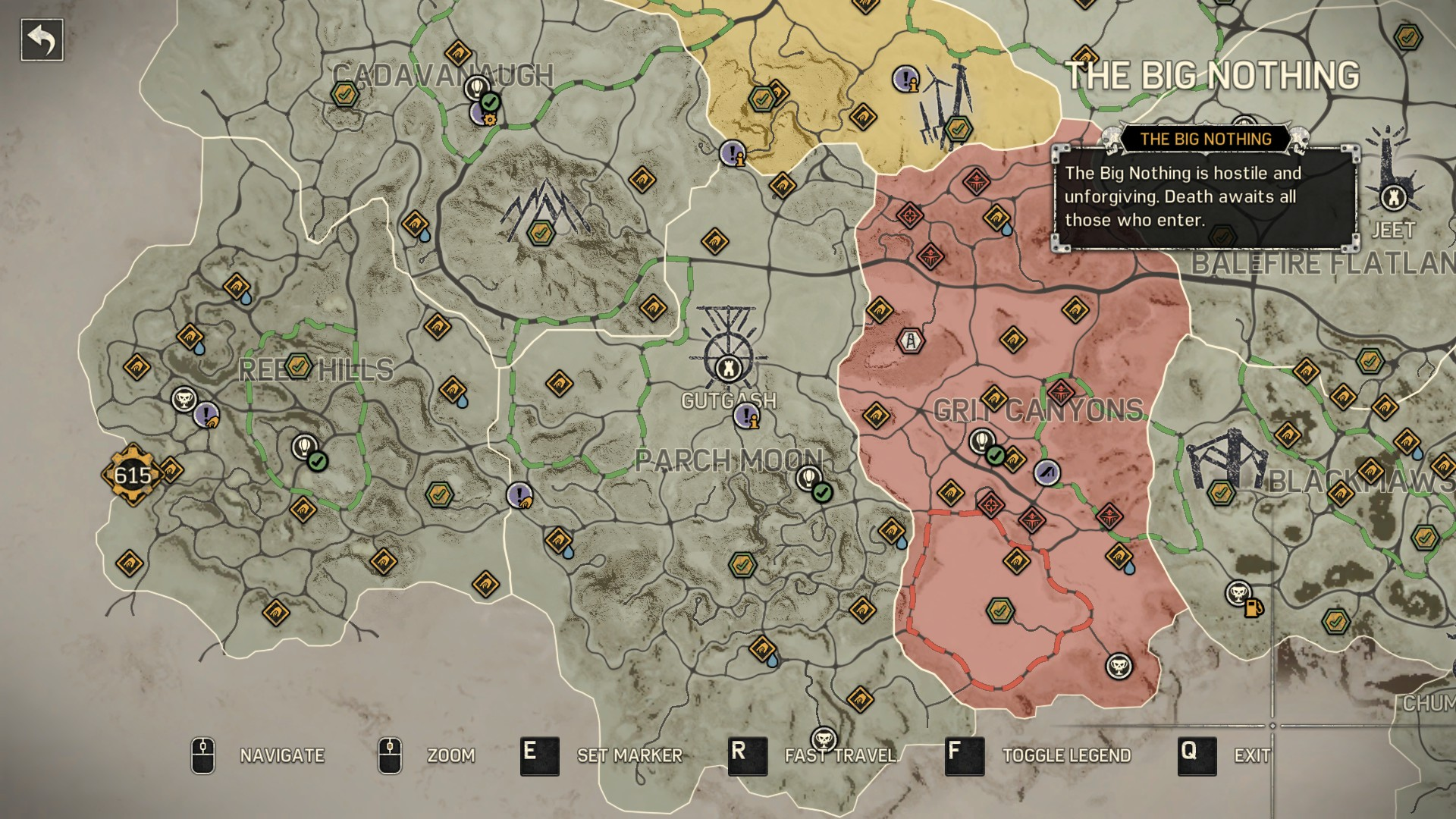 Steam community guide mad max all convoy routes locations gutgashs gumiabroncs Images