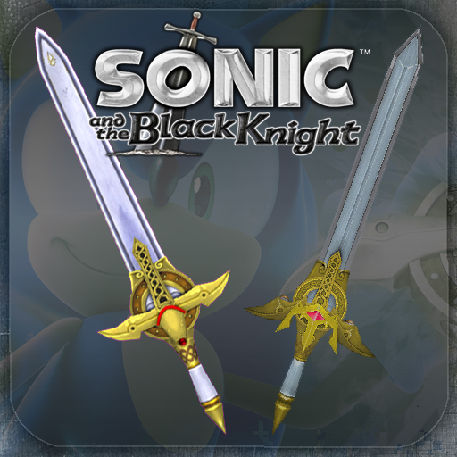 steam workshop sonic amp the black knight swords pack