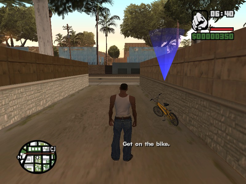 Steam Community :: Screenshot :: First GTA where you play as a black guy:  first thing you do is steal a bike