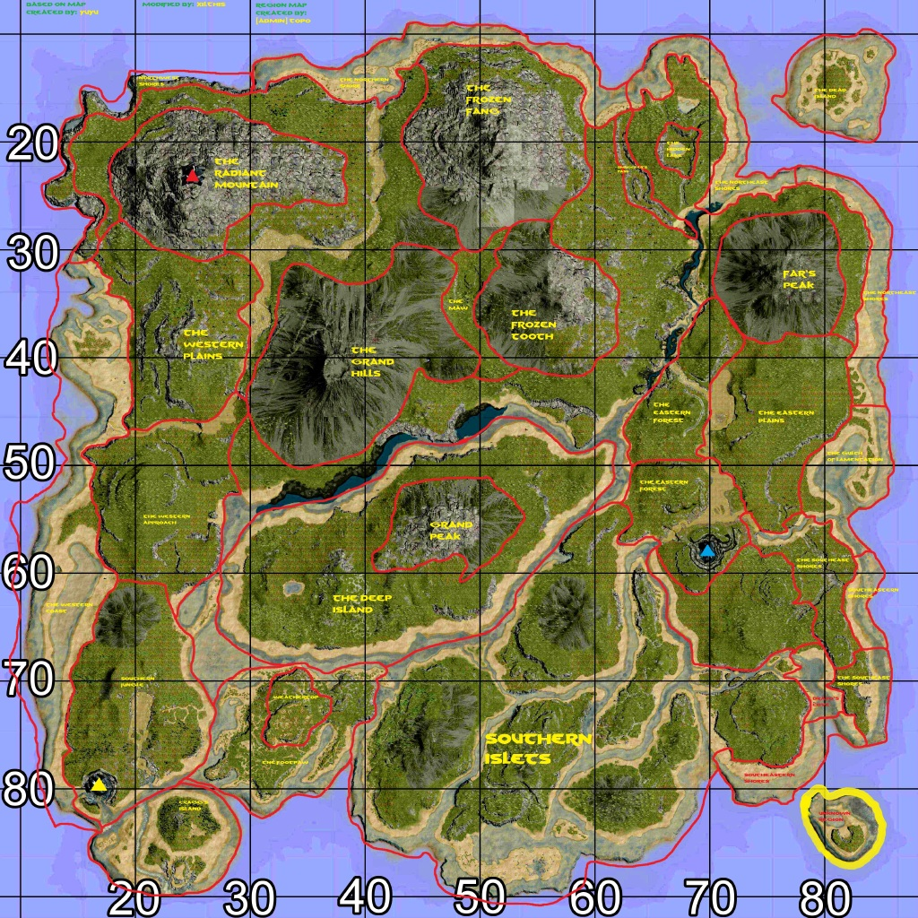 Steam Community :: :: Ark Region Map Semi-Final
