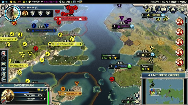 civilization 5 multiplayer mods