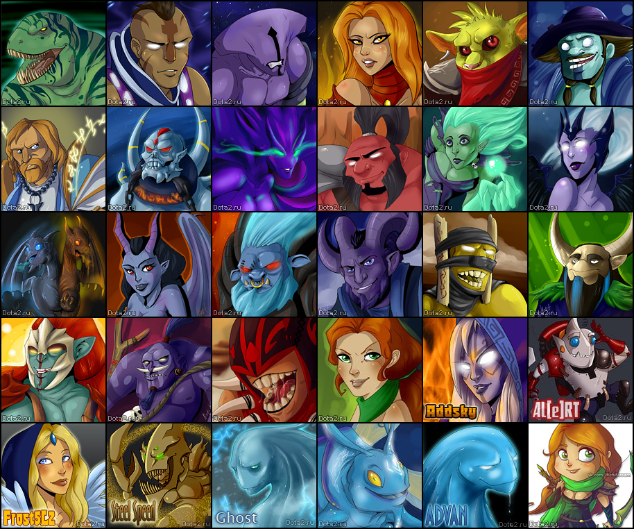 steam community dota 2 fan icons