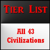Steam Community :: Guide :: All 43 Civilizations Tier List