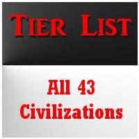 Steam Community :: Guide :: All 43 Civilizations Tier List & Uniques