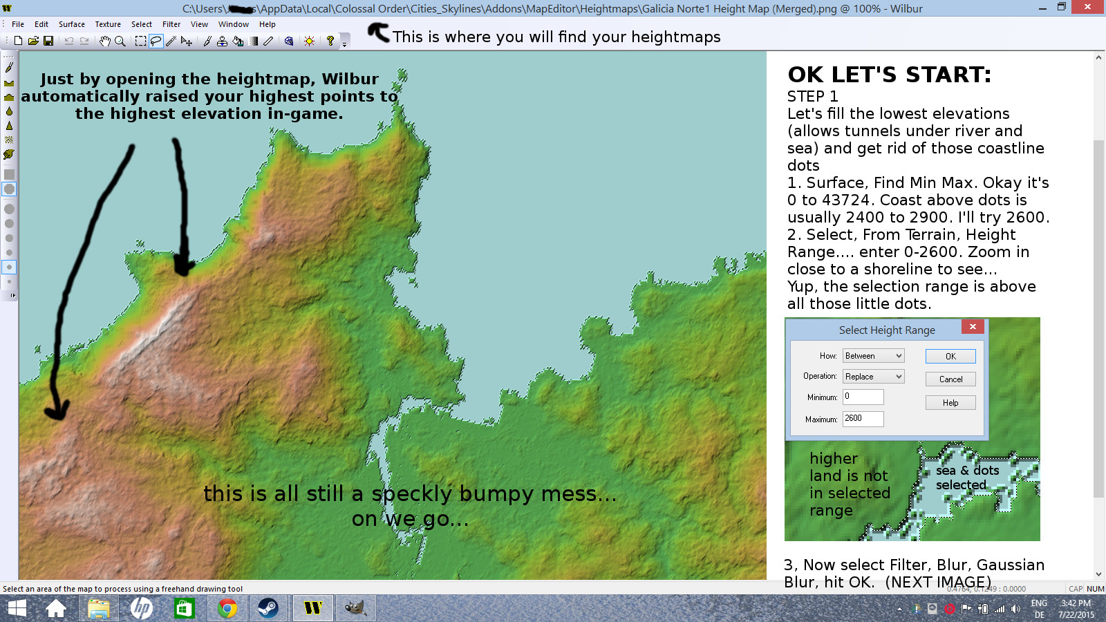 Steam community guide making maps with mr miyagi guide this image below is a very minimal amount of wilbur alterations to a regular non usgs map maps in terrain party that are outside the us and denmark really gumiabroncs Gallery