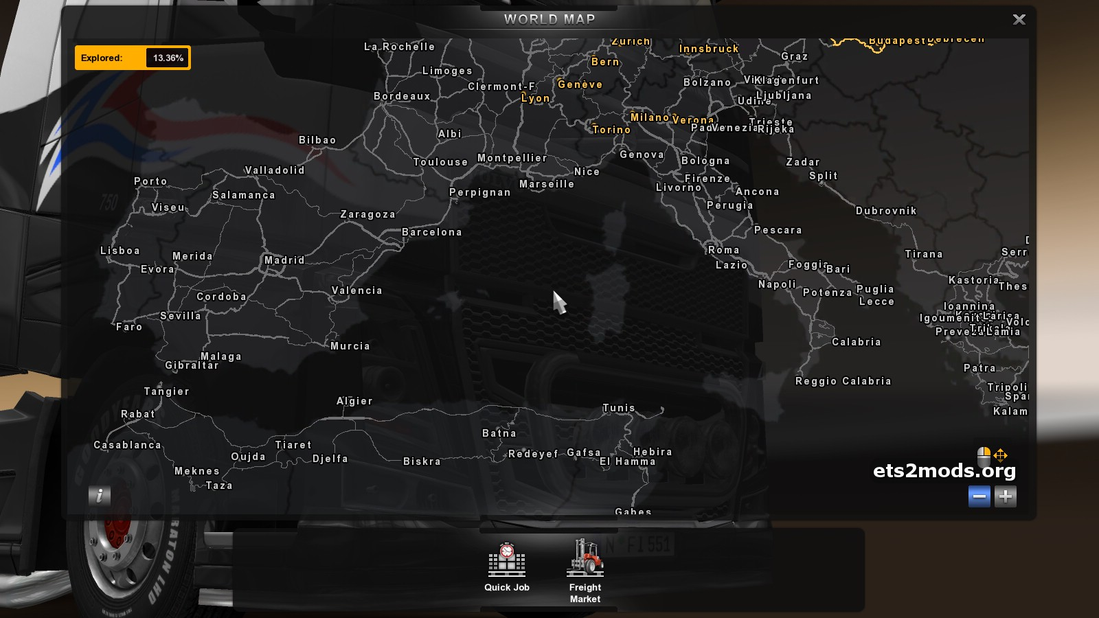 ets2 mods mapa portugal Steam Community :: Guide :: Adicionar Portugal ao Eurotruck  ets2 mods mapa portugal