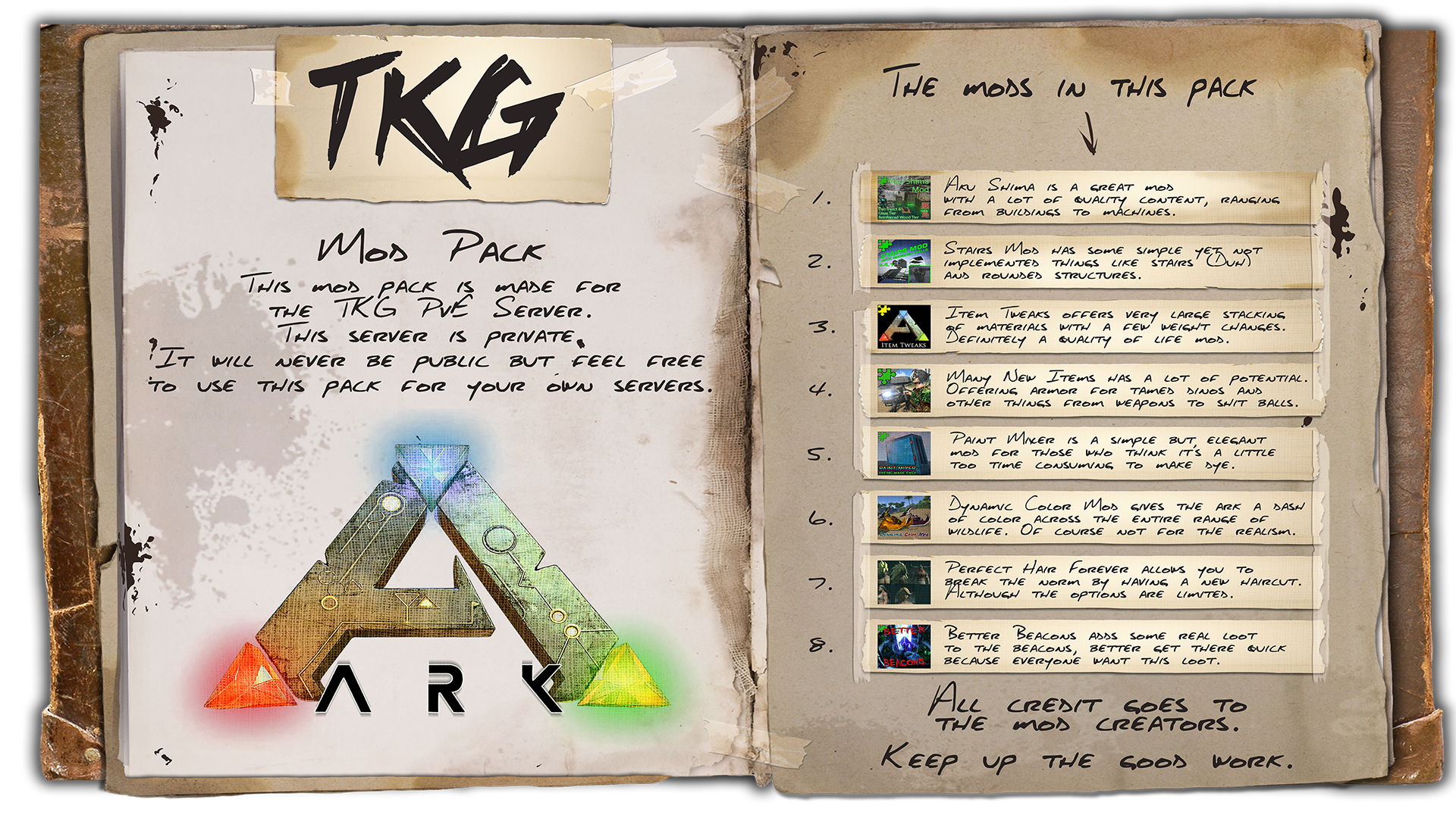 Steam Workshop :: TKG Ark Server Pack