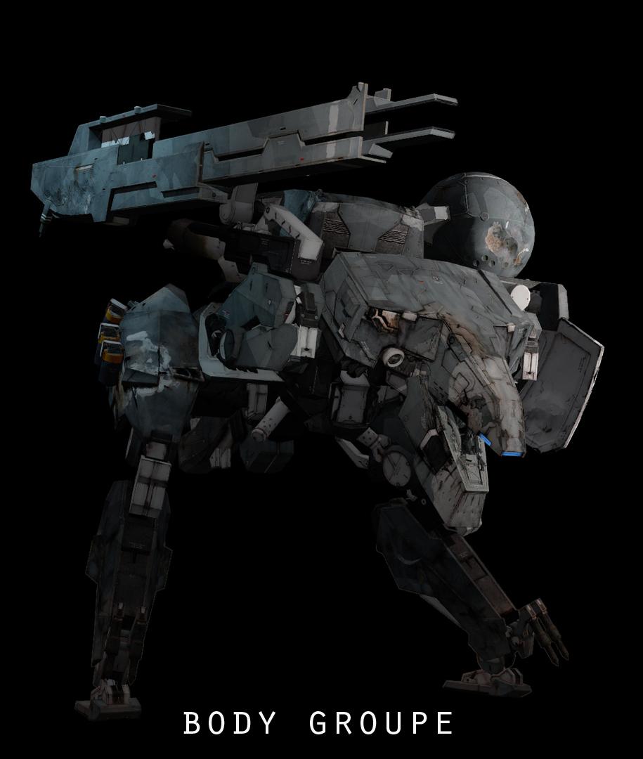 Steam Workshop :: Metal Gear Sahelanthropus