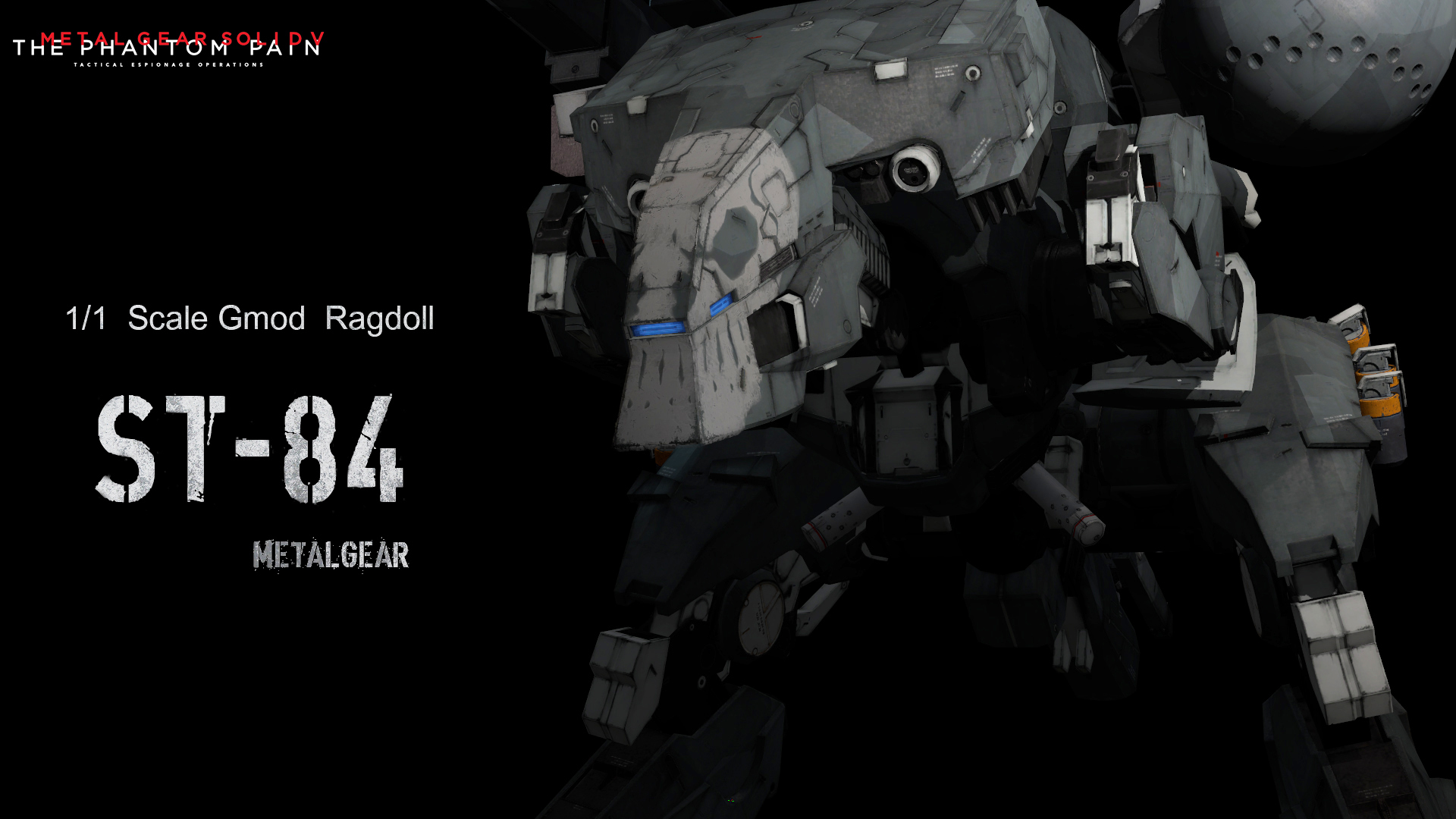 Metal Gear Solid V Sahelanthropus