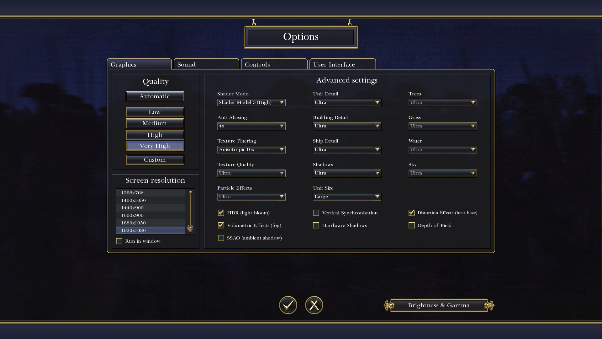Steam Community :: Guide :: Graphics settings High and Very High