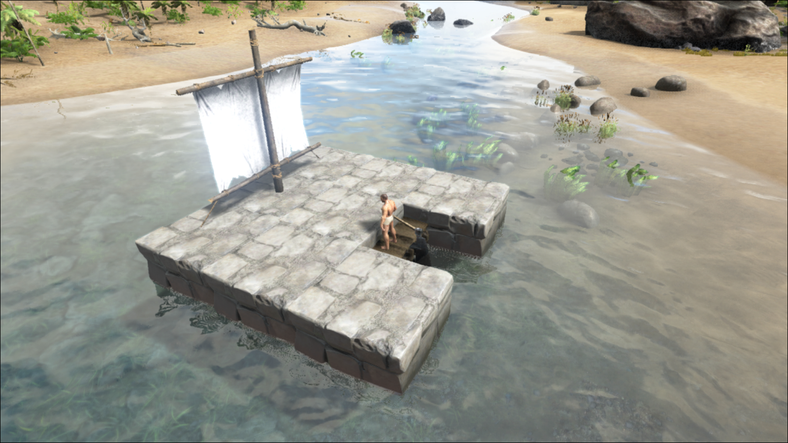 Ark Can T Build On Raft