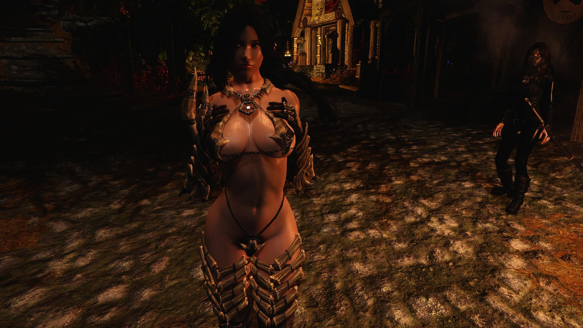 Сексуальная броня вампира